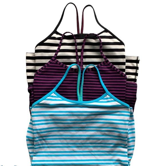 Lululemon Power Y Stripe Bundle Deal- Size 6